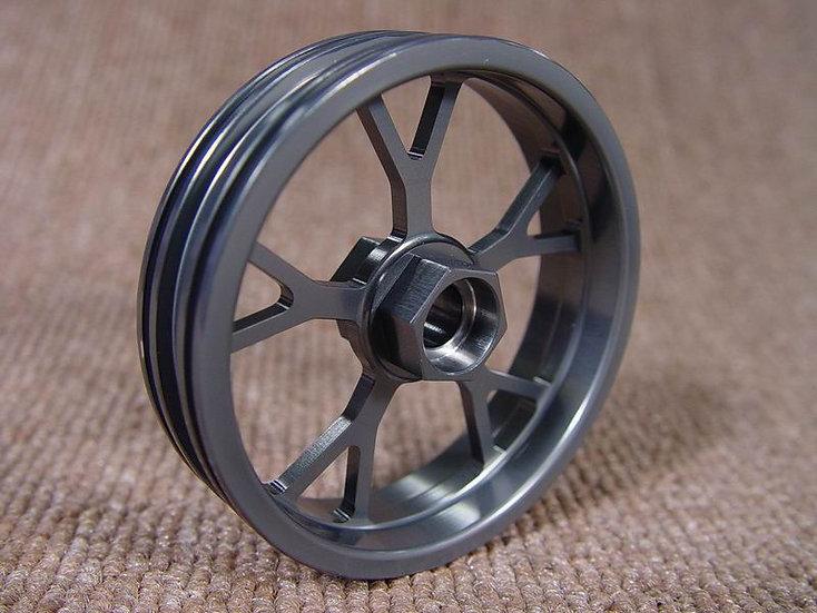 ZH Racing Z-201B Wheel Y Spoke Grey Front