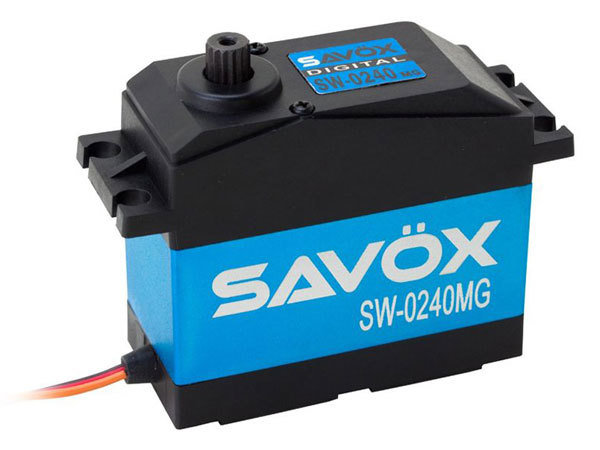 1/5 Waterproof Servo 35kg @ .15 SAV-SW0240MG