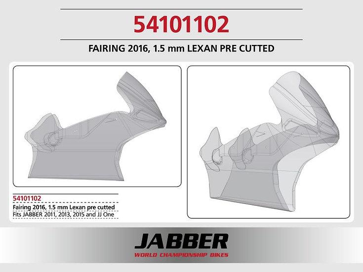LIGHTSCALE Cover 2016 Front 1.5mm cut for JABBER Bike
