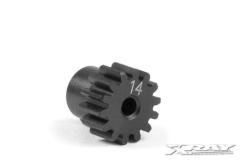 Xray Steel Micro Pinion Gear 48dp - 14T