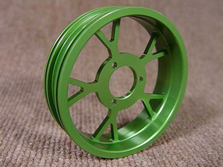 ZH Racing Z-205B Wheel Y Spoke Rear Green