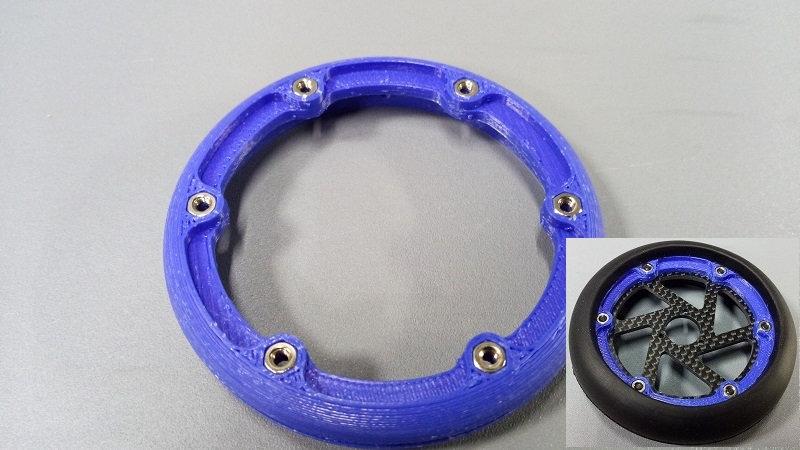 ZH-Rear wheel for GRP tyre