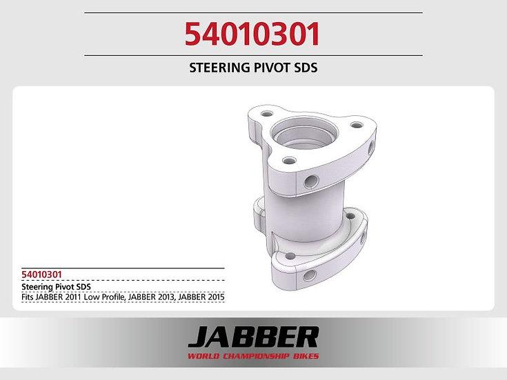 Steering head bearing seat SDS 2.0, plastic Jabber