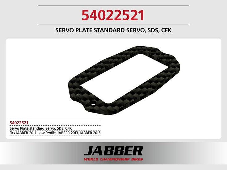 Servo mounting frame standard Servo f. SDS 2.0