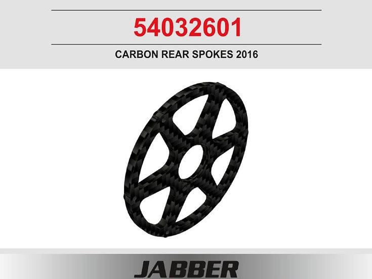 Rear rim, CFRP Jabber 2016