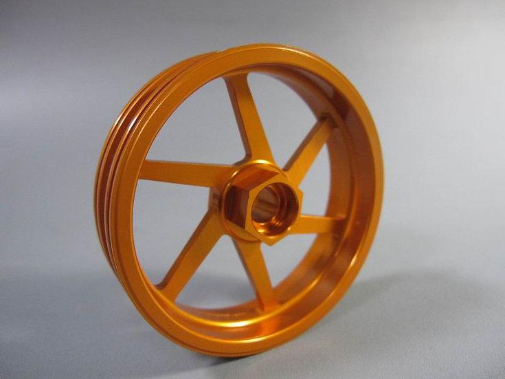 ZH Racing Z-201B Wheel 6 Spoke Gold Front
