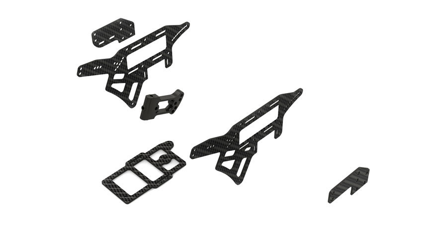 Carbon Race Chassis Kit for Venom GPV-1