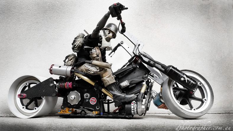 Custom RC Drift Bike