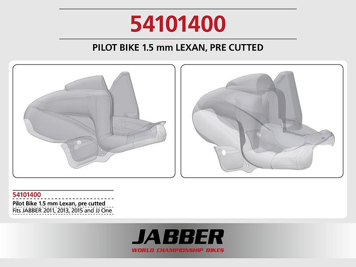 LIGHTSCALE panel 2016 rider 1.5mm for JABBER bike
