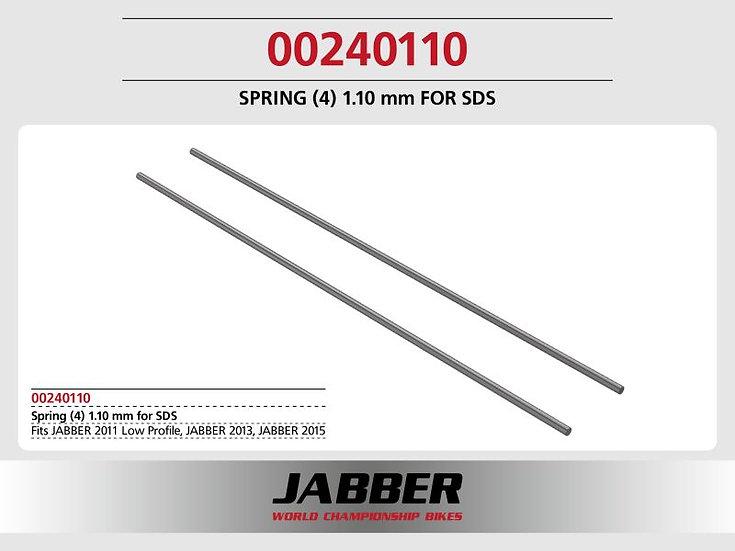 SDS Spring (4) 0.110mm