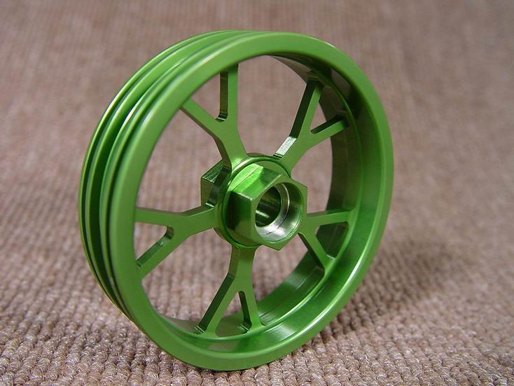 ZH Racing Z-205B Wheel Y Spoke Front Green