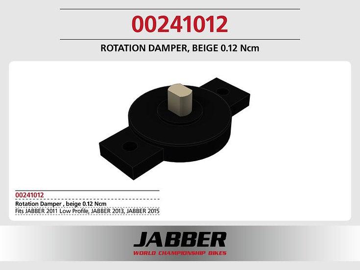 Rotating damper Beige 0.12 Ncm SDS 2.0.