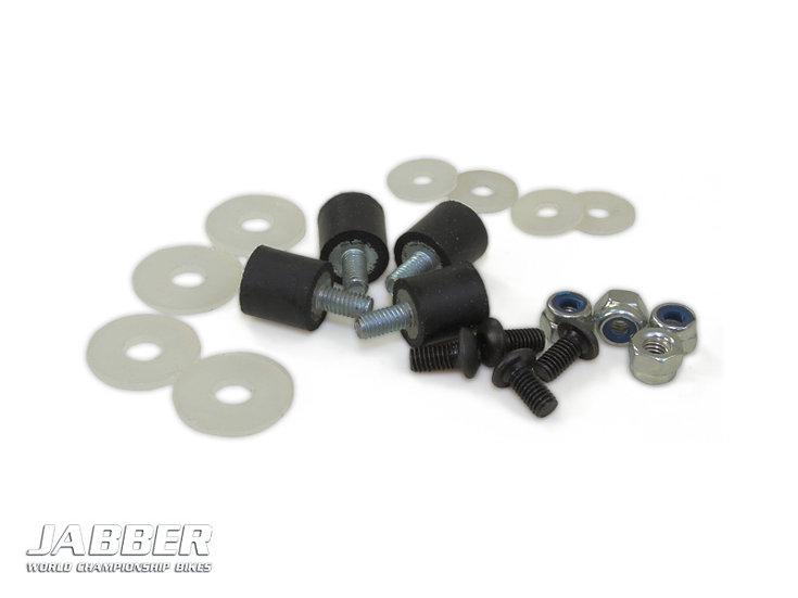 LIGHTSCALE Rubber Body mounts for JABBER BIKE