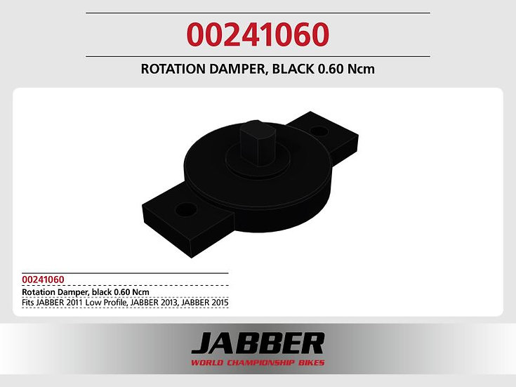 Rotating damper Black 0.60 Ncm SDS 2.0.