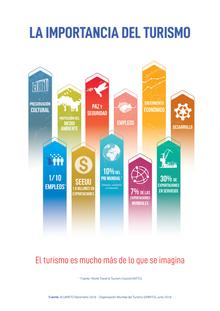 PRINCIPALES INDICADORES Y CIFRAS DE LA ORGANIZACION MUNDIAL DE TURISMO 2017-2018