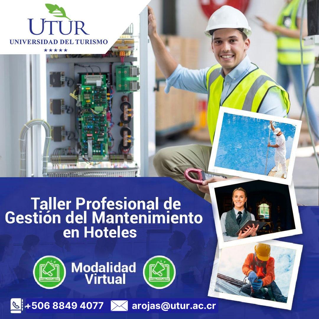 Taller Profesional de Gestión del Mantenimiento en Hoteles