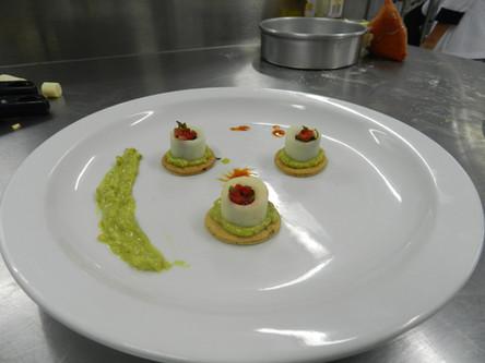 Platillos Preparados por los Estudiantes en la Cocina de UTUR