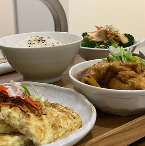 Black Fungus Stewed Chicken, Traditional Chinese Ginger Omelette