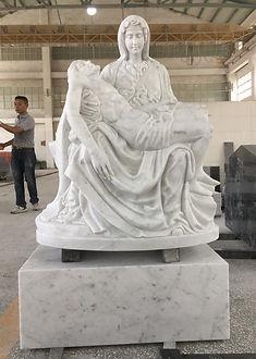 La Pieta statue for School.jpg