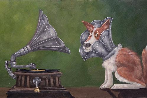 Bob, Cone, Gramophone
