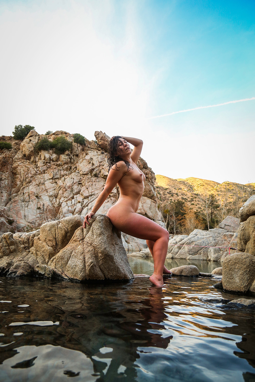 Sinn Sage at Deep Creek Hot Springs