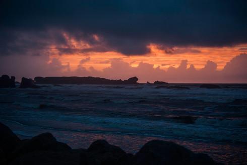 West Coast NZ Sunset