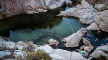 Magic at Deep Creek Hot Springs