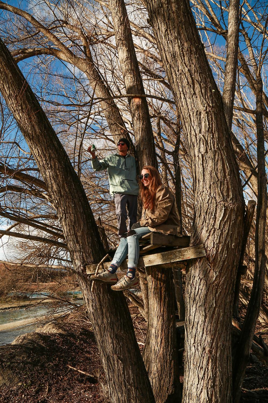 Treehouse fun