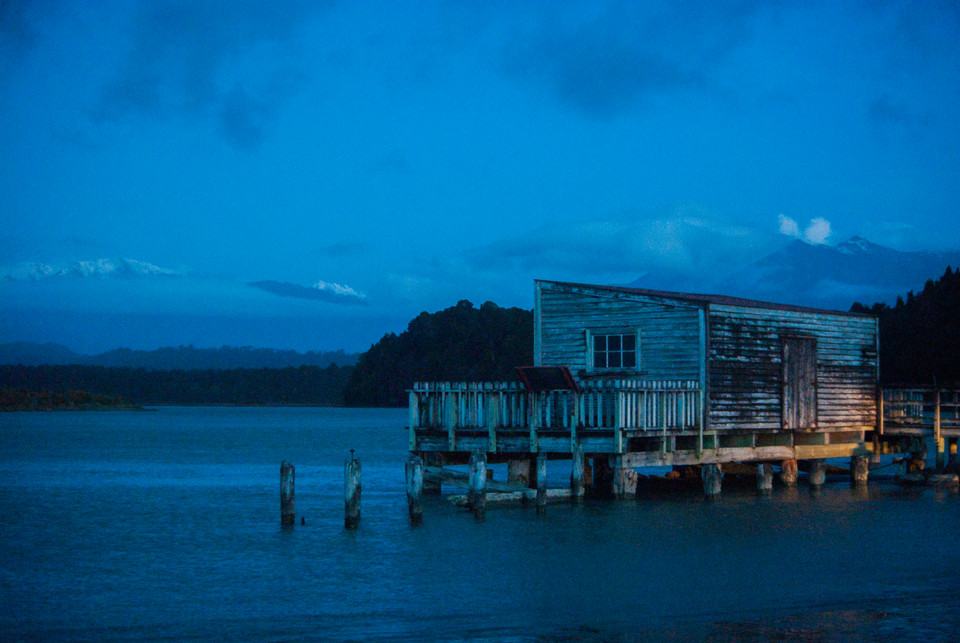 Boat Shed, Okarito, West Coast NZ