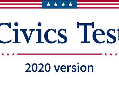 Biden Reverts to 2008 Naturalization Civics Exam