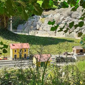 Ardèche miniature - Le jardin des trains