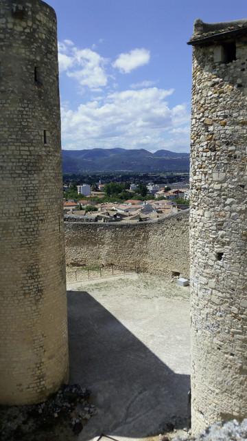 Vue du Château des Adhémar