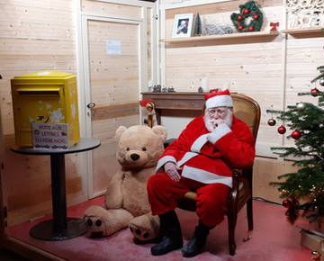 Le Père Noël à Valence