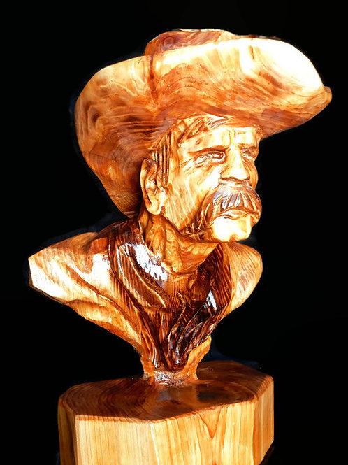 Cowboy Bust