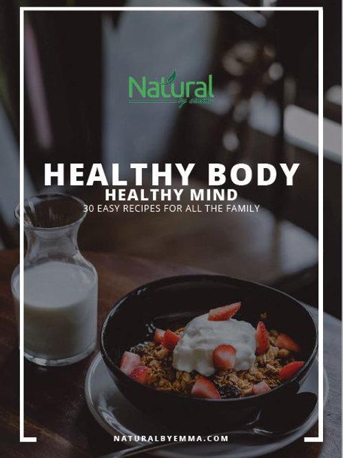 Healthy Body Health Mind - recipe ebook
