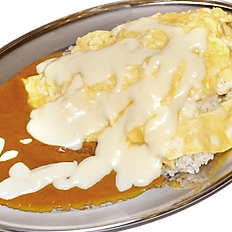 • • OMU-CHEESE CURRY• •  オムチーズカレー