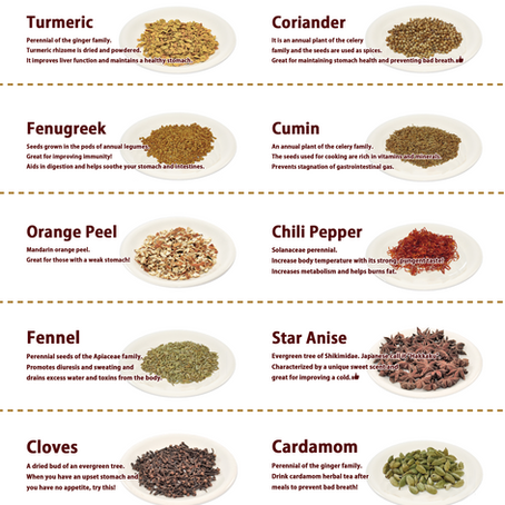 Our Spices!