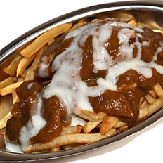 • • •  CURRY POUTINE  • • •  カレープーティーン