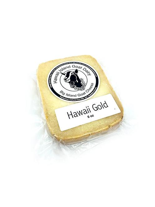 "Goat Milk ""Hawai'i Gold"" Cheese -  Hawai'i Island Goat Dairy (6 oz)"