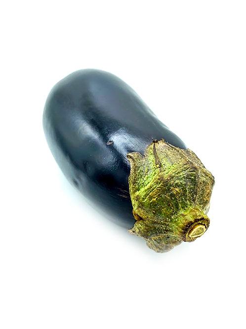 Round Eggplant - Johnson Family Farms (1 Pound)