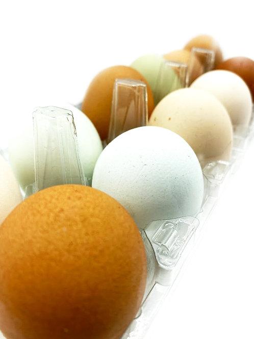 Local Eggs - Sunnyside Up Farm (Medium, Half Dozen or One Dozen)