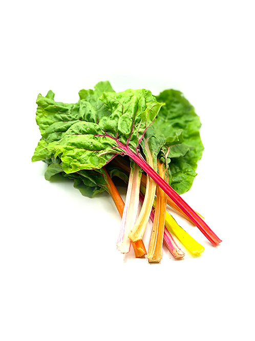 Rainbow Swiss Chard - Mother Nature's Miracle (8 oz Bunch)