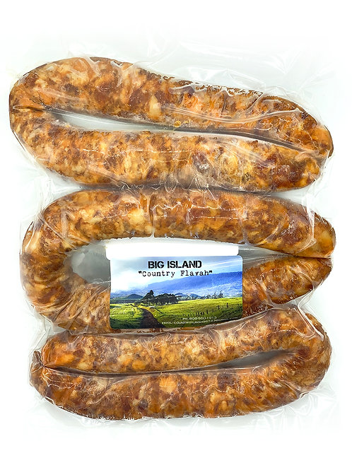 Portuguese Sausage, Pork - Country Flavah (3 Links)