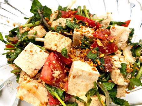 Tomori Tofu & Land Cress Salad