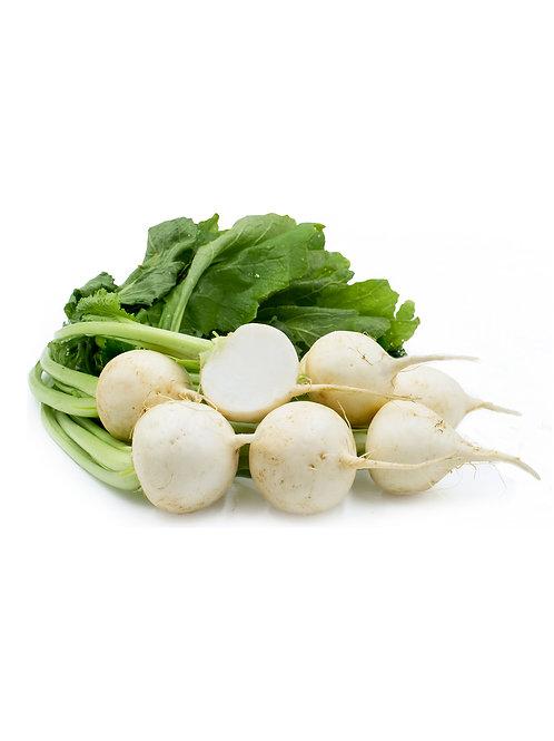 Tokyo White Turnips - Rincon Farms (1 lbs)
