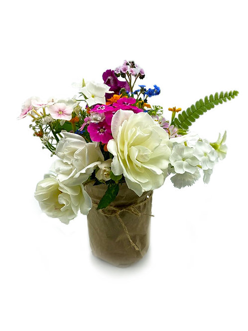 Mason Jar Blooms - Big Island Blooms (1 Mini Arrangement)