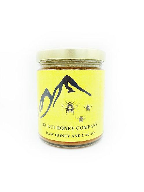 Raw Honey & Cacao - Kukui Honey Company (12 oz)