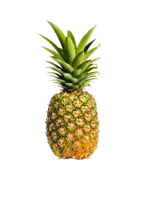 Sweet Yellow Pineapple - Niuli'i Mauka Farm (1 Whole Fruit)