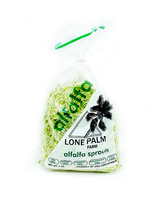 Alfalfa Sprouts, Various Blends - Lone Palm Farm (4 oz)