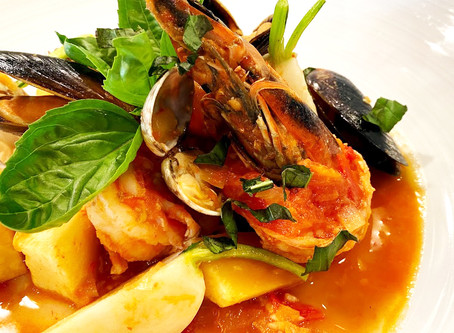 Ocean's Farm Inspired Seafood Stew